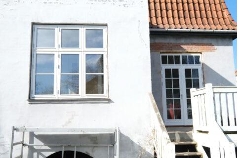 : Indbygning af terrassedør i Vanløse