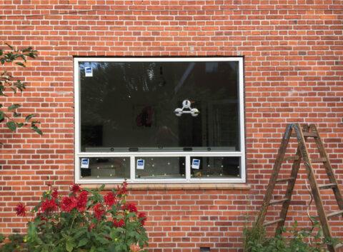 : Udskiftning af vinduesparti i Charlottenlund